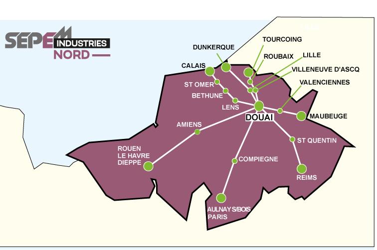 17 navettes routières gratuites pour vous rendre sur le SEPEM Industries Nord 2013, à Douai...